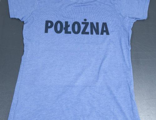 Koszulka damska POŁOŻNA