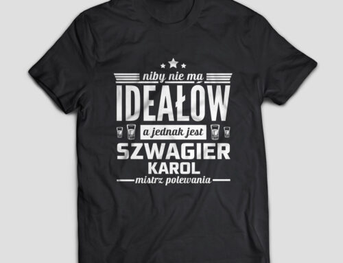 Koszulka szwagier mistrz polewania